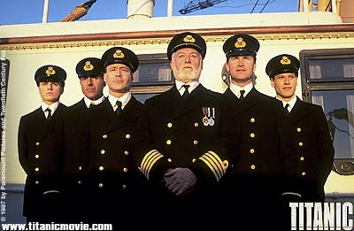 The crew of the Titanic, most of whom went down with the ship, but in rather different circumstance.
