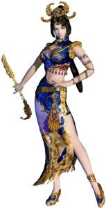 Zhen Ji as she appears in one of the earlier Dynasty Warriors installment.
