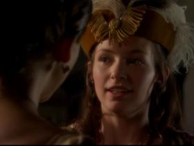 In The Tudors Anne is forced by her position to banish Mary, despite her personal preference.