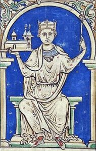 Despite Stephen's efforts to secure the throne for his son, Eustace was notoriously unpopular, and earned the enmity of the church. Ironically Eustace died, suddenly, while looting church land.
