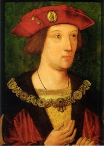 A portrait of Arthur, painted for the occasion of his wedding, the last likeness to be done so before his death.
