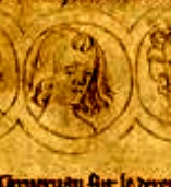 A rendering of Alphonso alongside his brothers and sisters, many of whom died young.