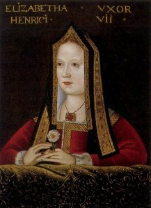 Elizabeth of York, the eldest daughter of Elizabeth Woodville and Edward IV became Queen and later, the mother of Henry VIII.