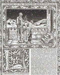 Geoffrey Chaucer dedicated a work to his son, Lewis. There is some debate on the identity of Lewis and if he was indeed, Chaucer's son.