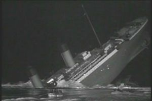 The ship sinks without breaking in two, however at the time there was some debate on the matter, with the White Star Line claiming the breakage could not have happened, fearing it would reflect badly on the company to admit a weakness in the hull.