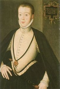 Henry Stuart, Lord Darnley was supposedly very handsome but also extravagantly vain and he was rumoured to be bisexual.