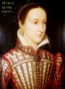 Mary, Queen of Scots famously had extremely bright auburn hair, which was considered one of her most striking features.
