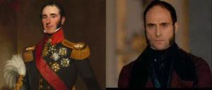 On the left; Mark Strong, on the right; Sir John Conroy