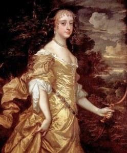 Frances Teresa Stuart 1662-65