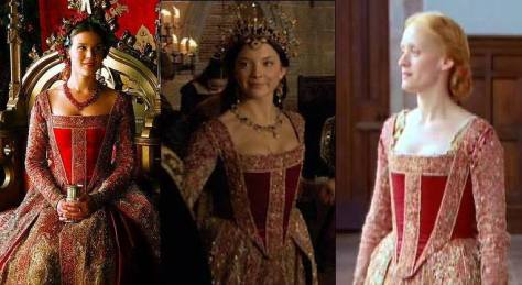 The Tudors 2010, 2007 and The Virgin Queen 2005