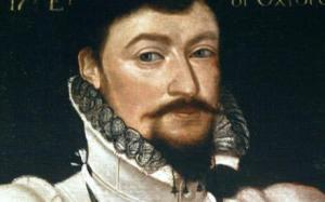 Edward de Vere, Earl of Oxford. Also William Shakespeare. Also secretly married to Elizabeth I. Also her son. Why not.