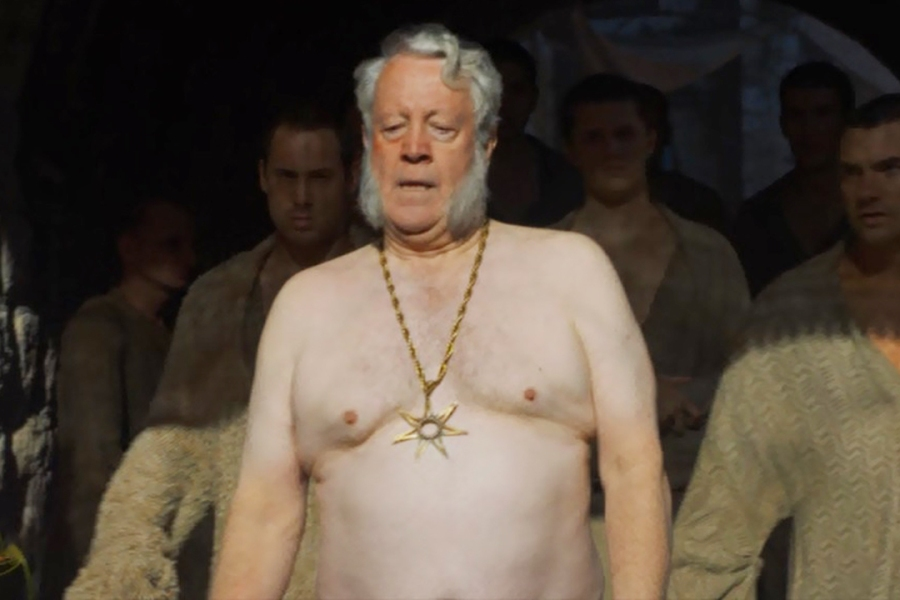 Full frontal nudity in a man? Not in my respectable HBO series!