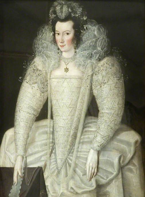Portrait of a lady thought to be Elizabeth Throckmorton