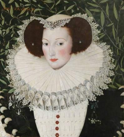 Peake, Robert, c.1551-1619; Ann Vavasour (1560-1650)